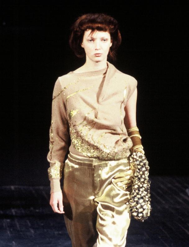 #Fashion - Aziz Bekkaoui - Paris Show - Model Maaike Helmer