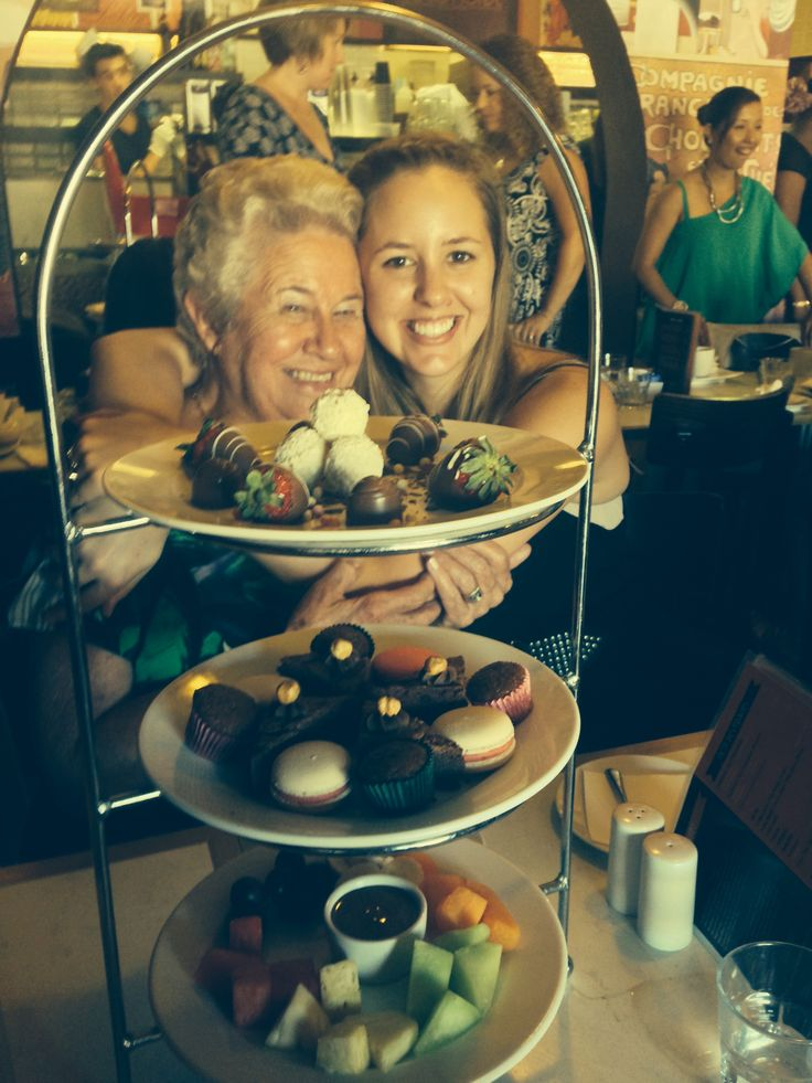 Great selection of savoury and sweet high tea. Awesome idea for pre hen's or girls lunch.
