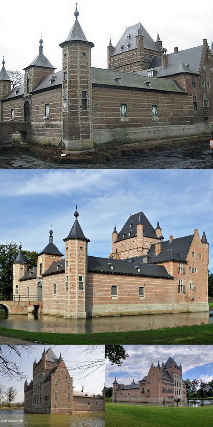 Bossenstein Castle #Antwerp #Belgium #Castle