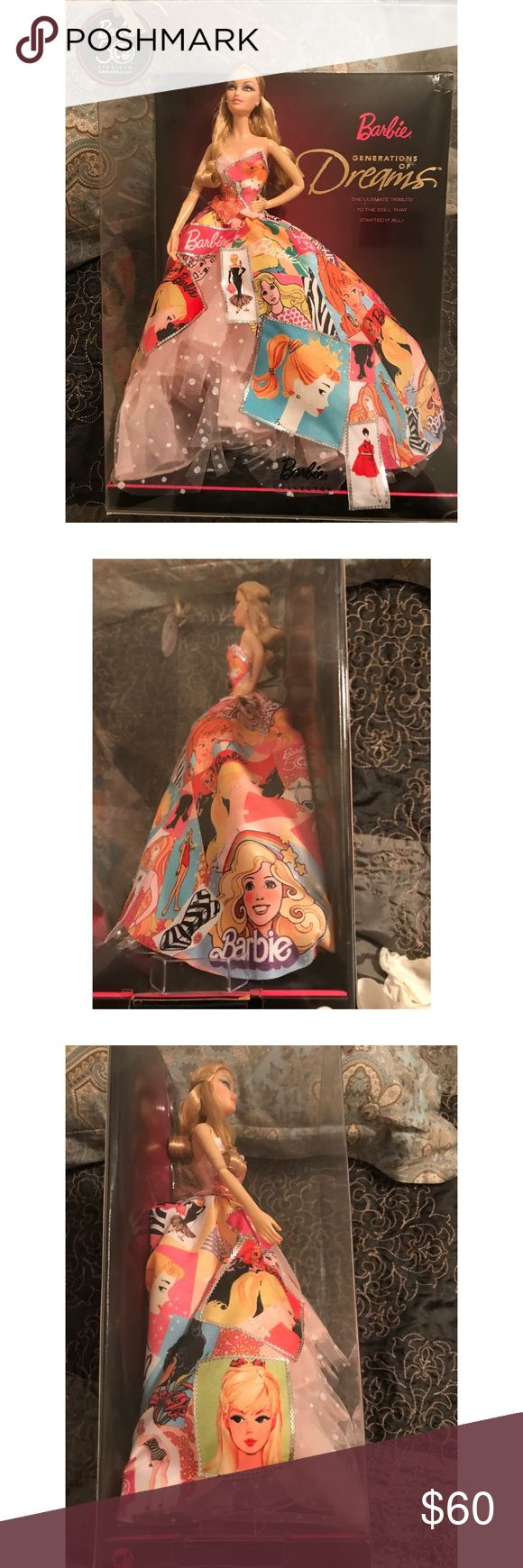 Barbie generation of dreams, New in box Celebrating 50th anniversary, never been opened. Collectors' item. Barbie Other