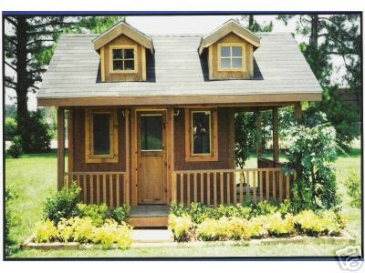 Acadian playhouse and creole cottage building plans for Cajun cottage house plans