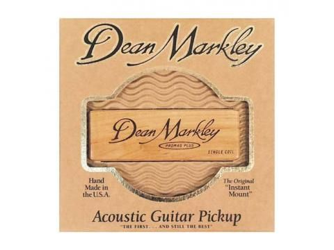 Dean Markley Promag Plus - PM1 - BC Wholesalers. Our number 1 selling soundhole acoustic guitar pickup the Dean Marley Promag Plus features a single coil pickup in a Maple Wood housing reproducing natural sound and installs within seconds. Made in USA.