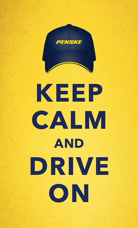 Keep Calm & Drive On - Penske Logistics is hiring safe, professional CDL truck drivers right now. Apply by phone 1-855-CDL-PENSKE #trucking #cdl #trucker #truckers #Penske #KeepCalm #Penske #yellow #yellowthings #moving #trucks #NeverStopMoving
