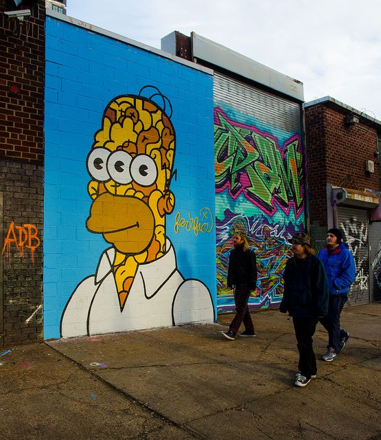 Homer jerkson by jerkface at