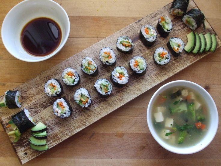 : Avocado Sushi, Recipe Ideas, Posts, Tofu Broth, Favorite Recipes