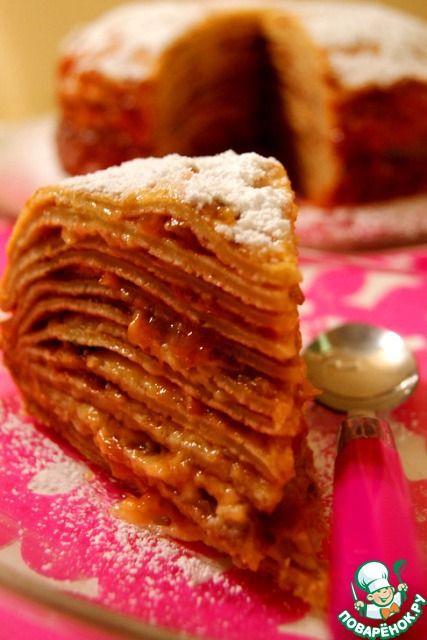 Теплый блинный торт-суфле и секреты моих блинов
