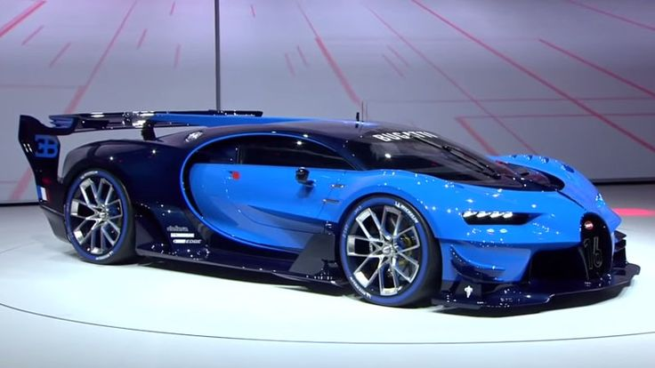 Bugatti unveils real-life video game car at Frankfurt Motor Show