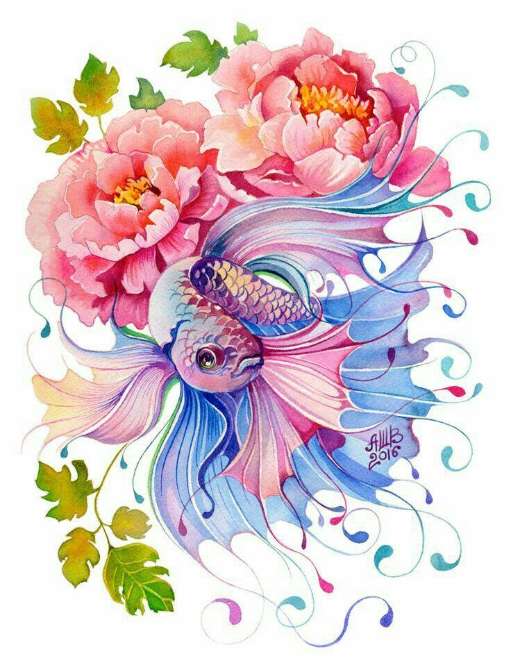 надеваю цветы картинки с рыбками любом случае, буду