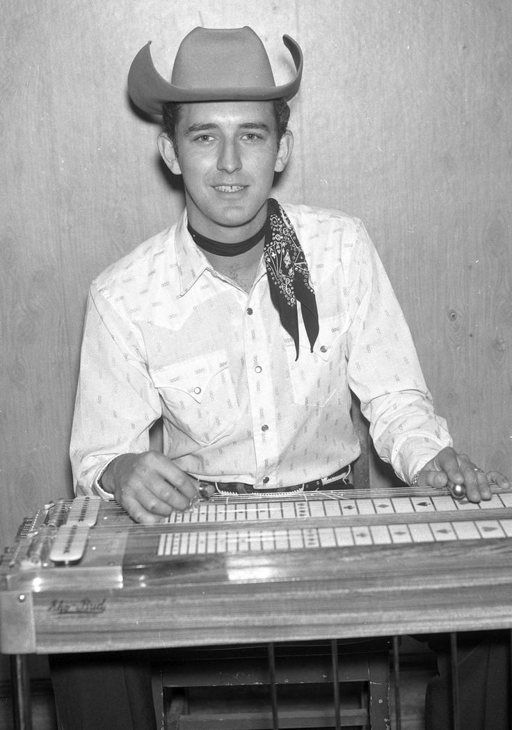 Buddy Emmons - pedal steel guitar great.