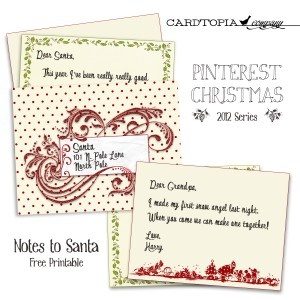 Best Santa Letter Images On   Free Printable