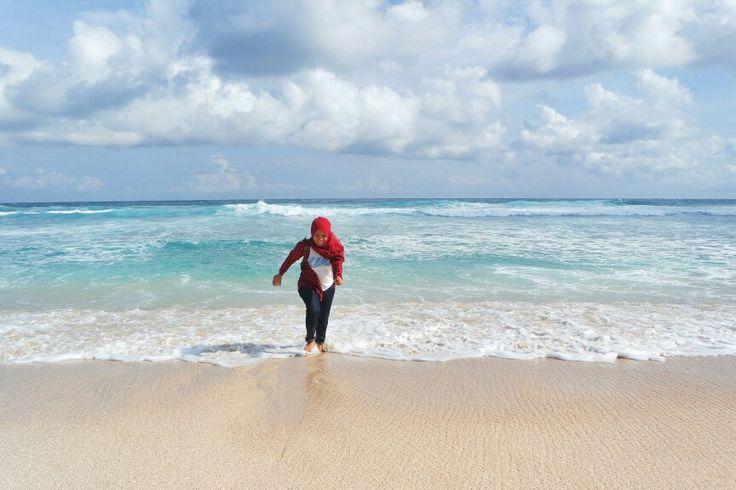 😄 #beach #blue