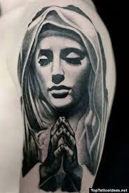 Afbeeldingsresultaat voor maria tattoo