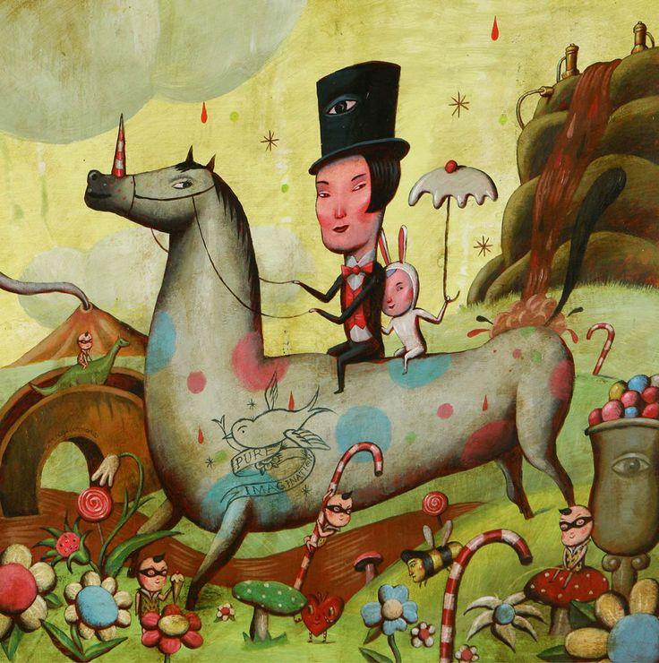 El arte para menores de PLOM Gallery