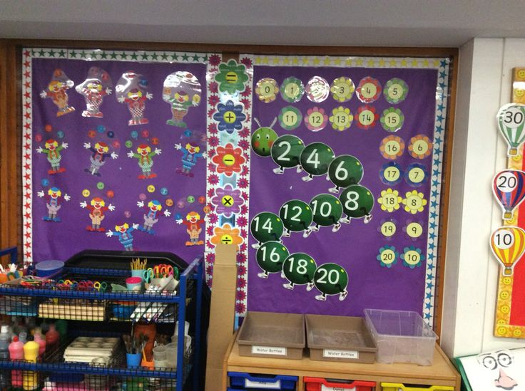 This promotes number recognition and visualisation through colourful and imaginative attraction for the children.
