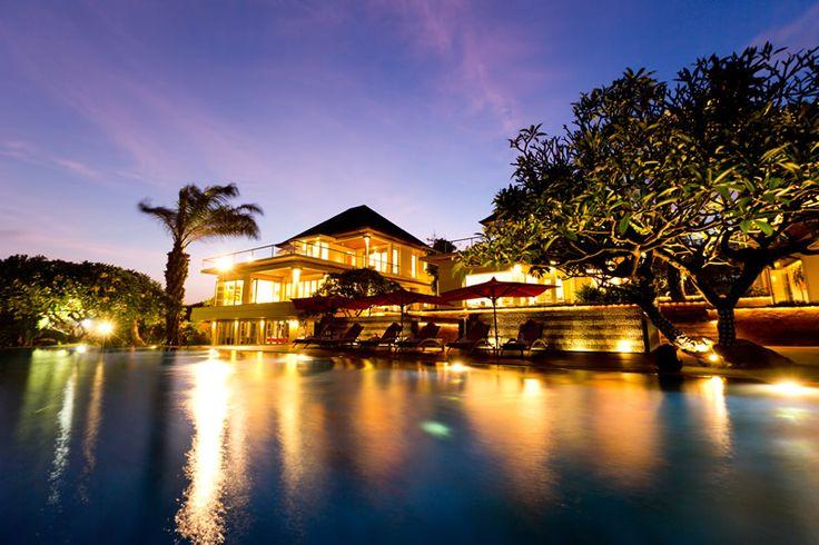 Sanur Residence Complex - nightime view