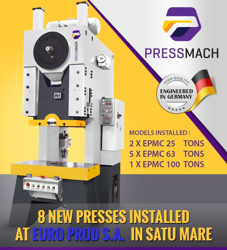 Pressmach NEWS Engineered in Germany