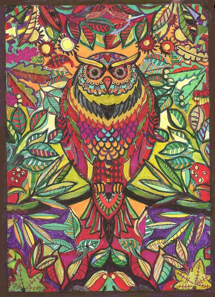 Johanna Basfords Wonderful Secret Gardens Coloring Book