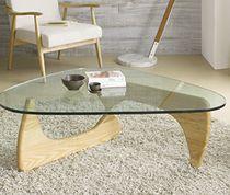 Table basse en verre et bois massif contemporaine GENEVE SOFAMOBILI-30