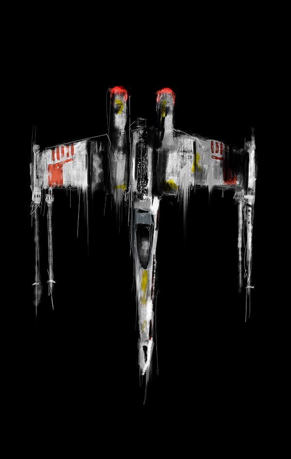Let's take a minute to appreciate this awesome X-Wing Art. #StarWars will always…                                                                                                                                                                                 More
