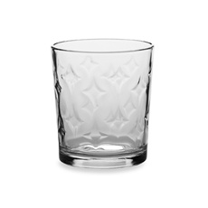 Circleware Solitaire 13-Ounce Double Old Fashioned Glasses - Set of 4 Looks like the Steelers symbol $4.99