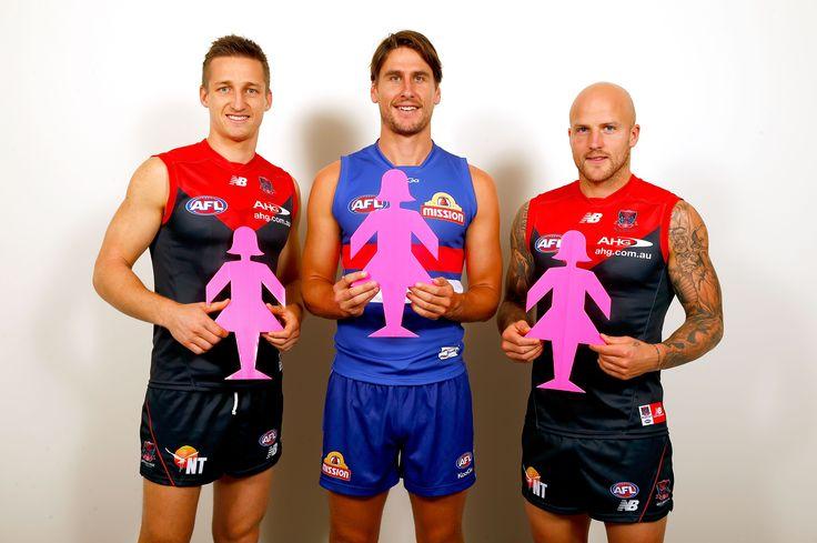 Field of Women 2014 | Team Captains Jack Grimes, Nathan Jones & Ryan Griffen