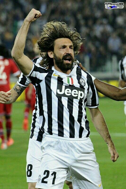 Esulranza goal andrea pirlo Leg 2 quarter final UEL  Juventus 2-1 lyon