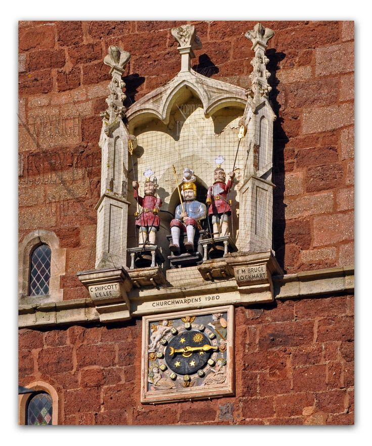 Matthew the Miller Clock, Exeter