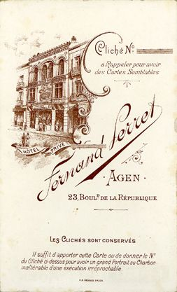 Fernand PERRET - Agen, Lot-et-Garonne