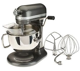 KitchenAid Pro 600 6 qt. 575 Watt 10 Speed Stand Mixer...I'm going all Lorraine about this one!