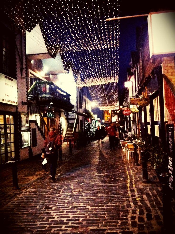 Ashton Lane, Glasgow, Scotland. I so miss the atmosphere of Glasgow's west end!