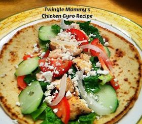 twingle mommmy: Chicken Gyro Recipe