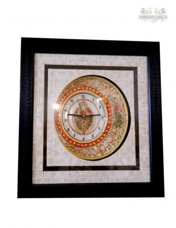 Beautifully hand painted by artist A perfect gift for any occasion; These marvelous handcrafted artifacts from Rajasthan carved out of pure Makarana marble(Natural stone) ( the best marble of India) are the distinguished piece of art to enhance the beauty of your interiors.