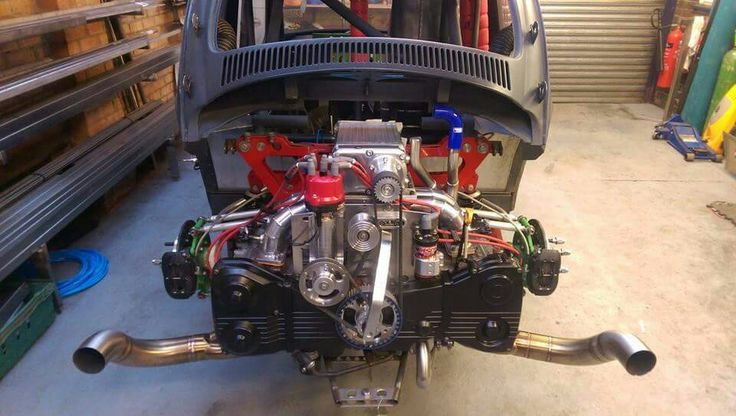 Supercharged subaru powered vw drag racing beetle for Subaru wrx with blown motor for sale