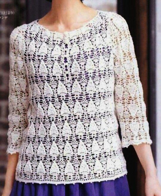 Mejores 59 imágenes de crochet en Pinterest   Patrones de ganchillo ...
