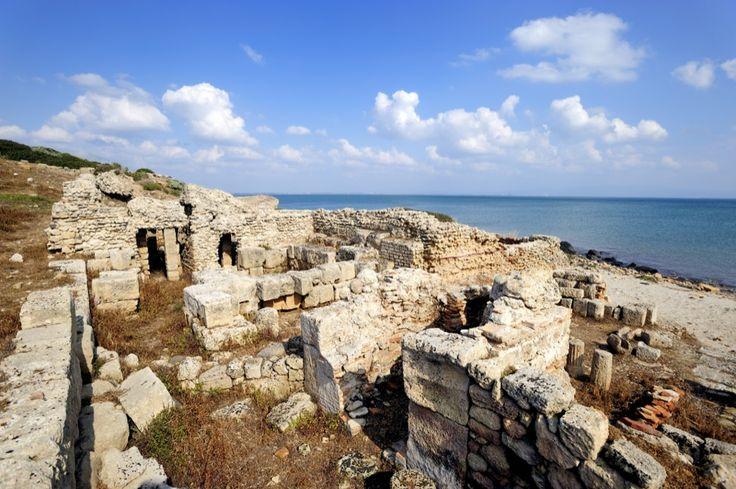 Sardegna da scoprire, penisola del Sinis, l'antica città di Tharros www.sardegnapleinair.it