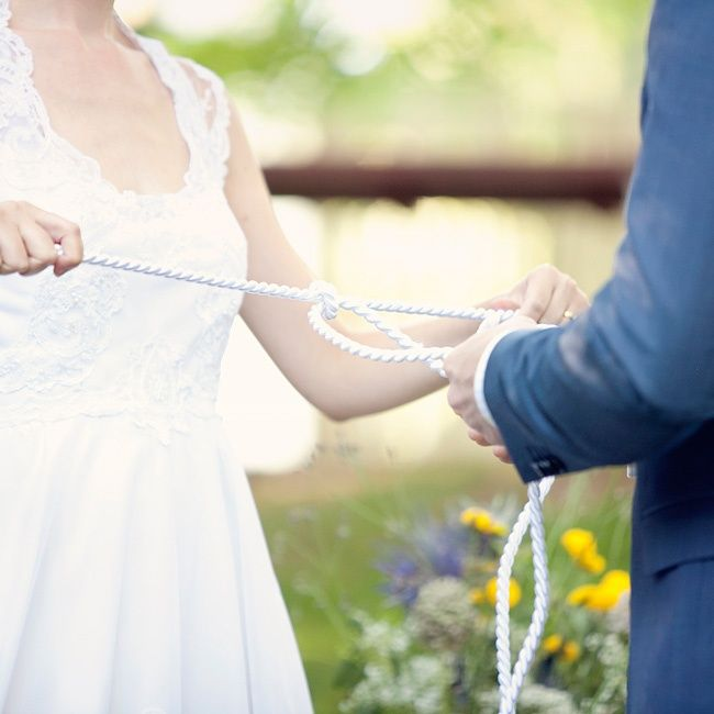 'Tying the Knot' // SayBre Photography // http://www.theknot.com/weddings/album/a-garden-charm-wedding-in-lilburn-ga-133437