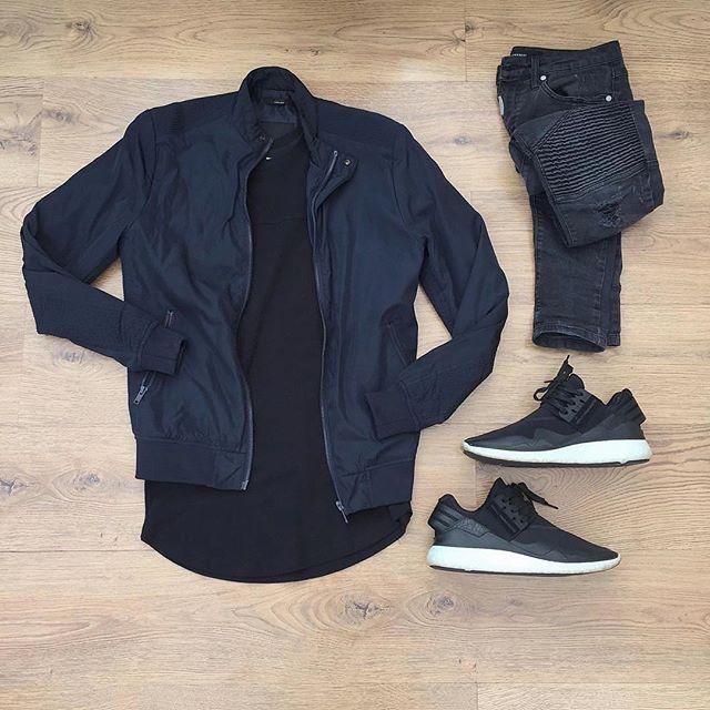 WEBSTA @ wdywt - 👍 or 👎: #WDYWTgrid by @kylescropper#mensfashion #ootd #outfit👕: #Zara #SubmissionLdn👖: #Representclo👟: #Adidas #Y3 Retro Boost#WDYWT for on-feet photos#WDYWTgrid for outfit lay down photos•