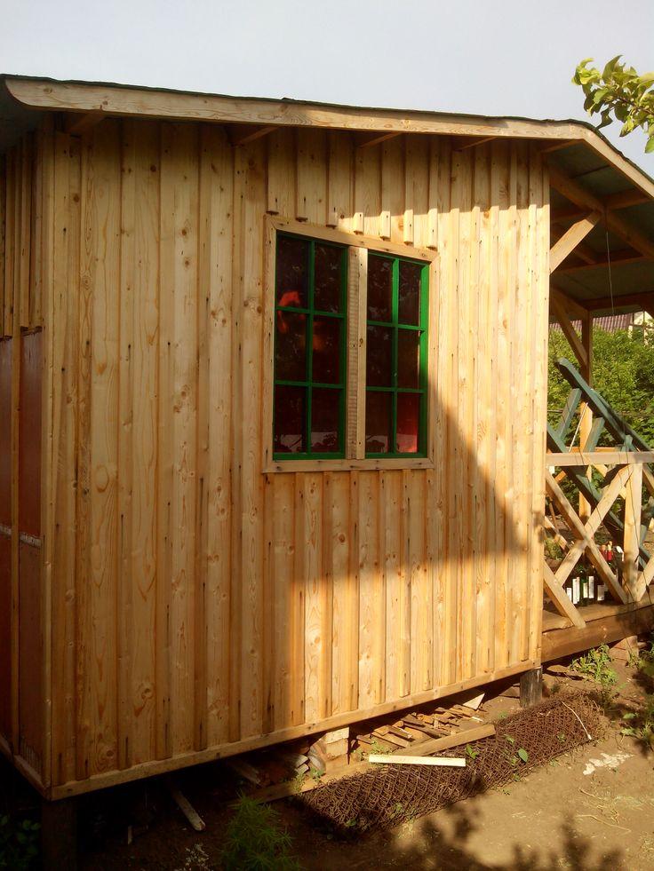 shed window (окно сарая)