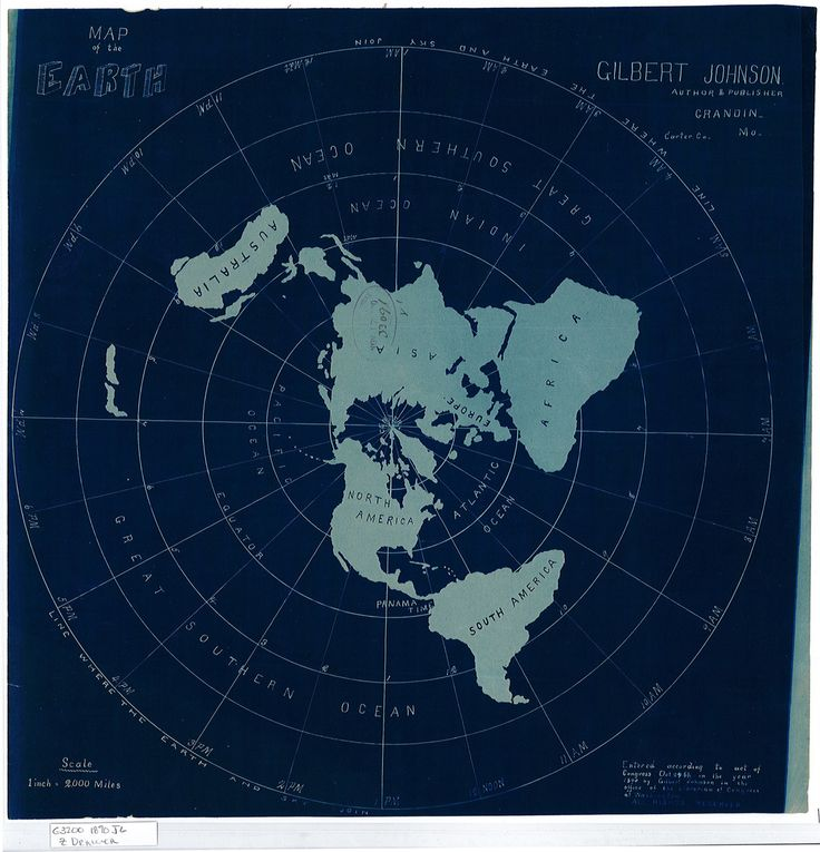 flat map of earth - photo #19