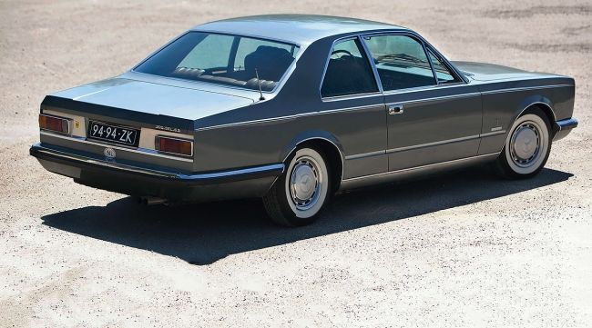 Mercedes-Benz 300 SEL 6.3 Pininfarina Coupe, Yes he worked for Merc too.