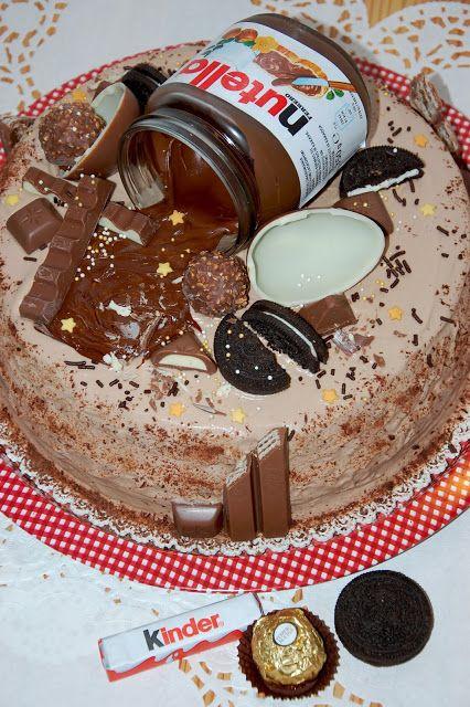 SüniSüti: Mogyorókrémes csokimennyország torta