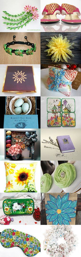 Everything Spring by Jennifer Zia on Etsy--Pinned+with+TreasuryPin.com
