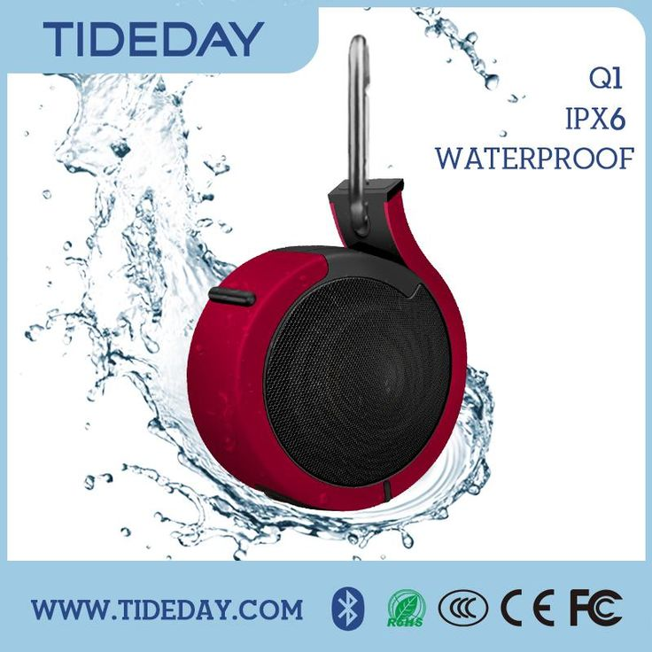 Factory Outlets Pool Waterproof Mini Speaker For Mountain Bike , Find Complete Details About