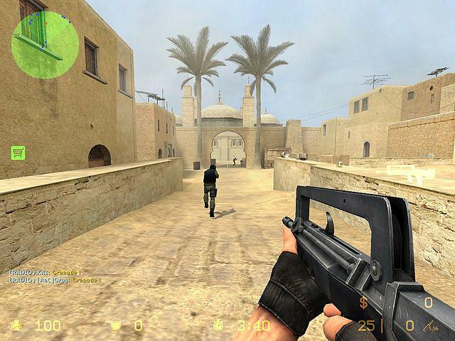 Counter-Strike: Source é um jogo de tiro em primeira pessoa, da série Counter-Strike lançado em 2004 pela Valve Software.