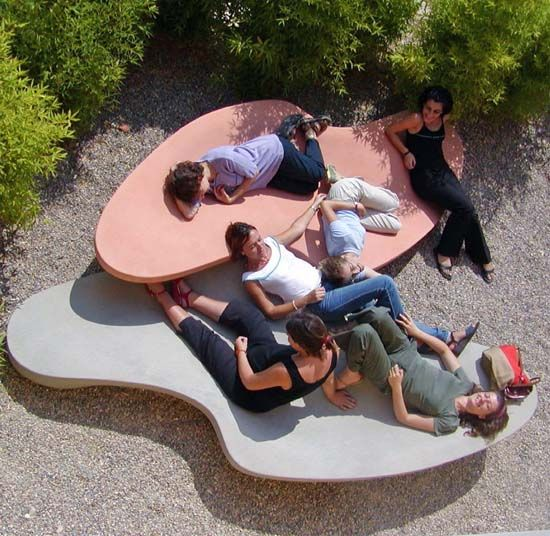How urban furniture is changing the city landscape #streetfurniture
