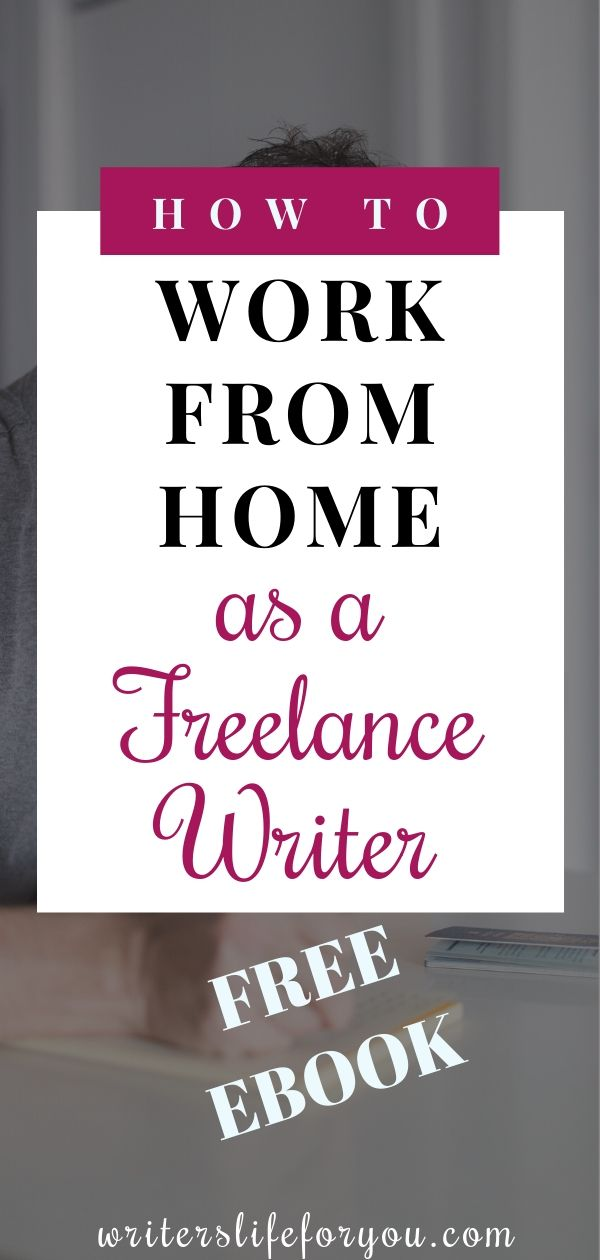 How To Work From Home As A Freelance Writer Freelance Writing Writing Jobs Freelance Writing Jobs