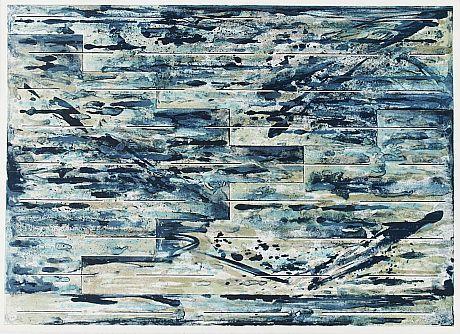 Juhana Blomstedt: Utan titel, 1973, färglitografi, 52x73 cm, edition ea III/X - Stockholms Auktionsverk 2013