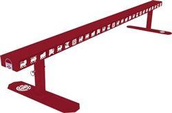 ELEMENT 6' FLATBAR GRIND SKATE RAIL PRISMATIC RED