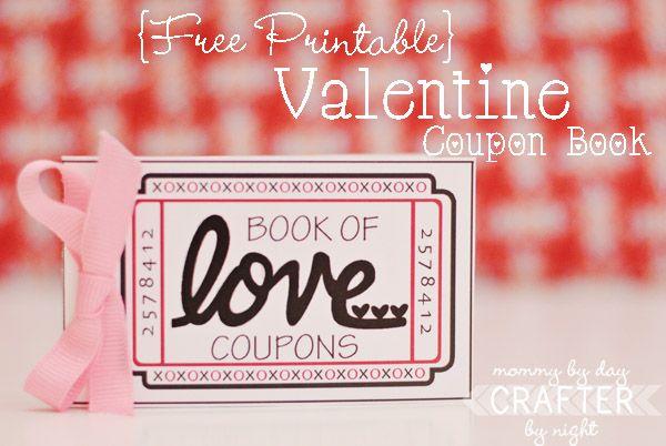 {Free Printable} Valentine Coupon Book