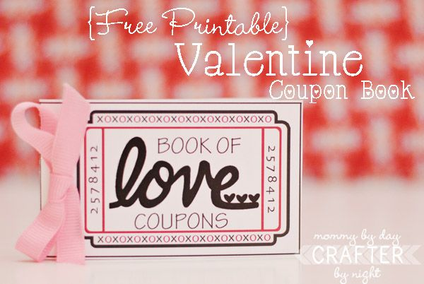 Printable Love coupons: Valentine'S Day, Coupon Books, Printable Valentines, Gifts Ideas, Valentine'S S, Valentines Day, Free Printable, Valentines Coupon, Love Coupon
